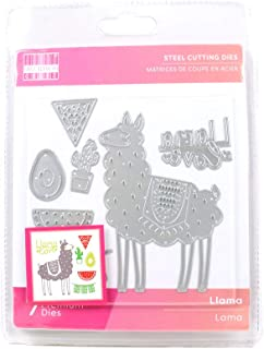 Trimcraft First Edition Metal Paper Card Craft Die Set - Llama Collection