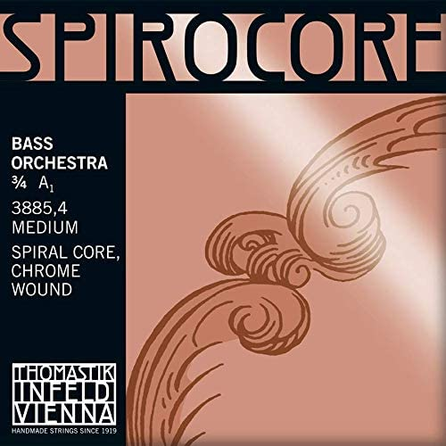 Thomastik-Infeld 3885.4W Spirocore Double Single String Today's 2021 new only A Bass