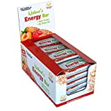 Victory Endurance Nature´s Energy Bar Fresa 60g, barrita energética con un 41% Frutas y ...