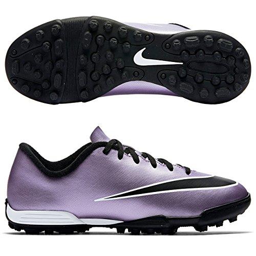 Nike Jr Mercurial Vortex II TF, Scarpe da Fitness Bambina, Viola (Urbn Lilac), Nero, Giallo (Brght Mng), Bianco, 36 EU