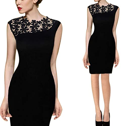 bd0bf611f2f Sunday77 Women Dress Women Dress Lady Lace Stretch Valentine s Day Clubwear  Cocktail Evening Party Bodycon Dress