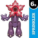 BigMouth Inc. Ginormous Inflatable Demogorgon Yard Summer Sprinkler, Perfect for Summer Fun