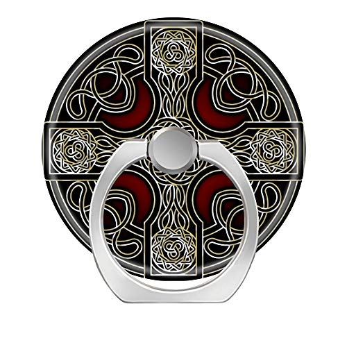 LoveStand-Cell Phone Ring Holder 360 Degree Finger Ring Stand for Smartphone Tablet and Car Mount-Celtic Cross