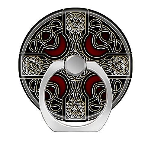 LoveStand-Cell Phone Ring Holder 360 Degree Finger Ring Stand for Smartphone Tablet and Car Mount-Celtic Cross