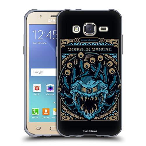 Head Case Designs Offizielle Dungeons & Dragons Monster Handbuch Hydro74 Kunstwerk Soft Gel Huelle kompatibel mit Samsung Galaxy J5 / J500