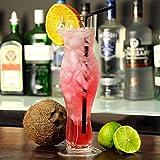 bar@drinkstuff Sexy Frauentorso-Bierglas, Geschenk für Männer, Erwachsene, ca. 0,5 l, geschenkverpackt - 3
