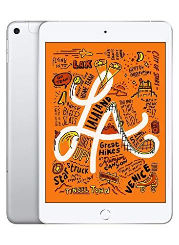 Apple iPad Mini 5 256GB WiFi/Cellular Silver (Renewed)