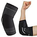 Elbow Brace - Perfect Arm Splint Supports for Tennis Elbow, Golfers Elbow, Weightlifting, Tendonitis Joint Pain Relief for Men Women (Medium - 1Pc)