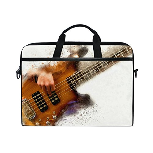 JSTEL Abstract - Funda para guitarra eléctrica, portátil, bandolera, para portátil de...