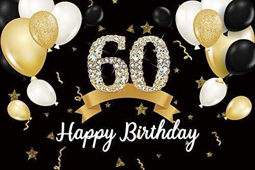 Geburtstag Hintergrund Happy 50th 40 30 25 18 Geburtstagsfeier Gold Polka Dot Poster...