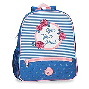 51gHXq1ztKL. SS300  - ROLL ROAD Rose Mochila pequeña adaptable