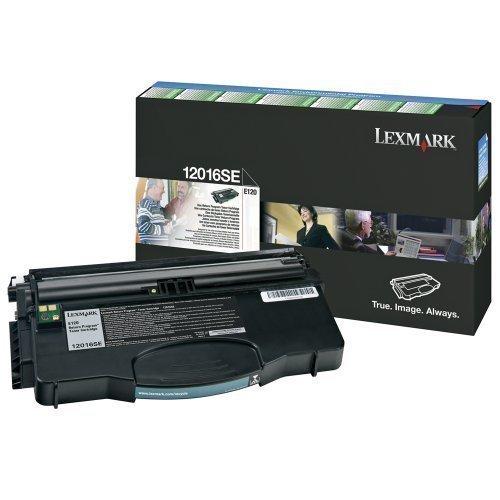 Original Tóner Lexmark Optra E120 (Aprox.. 2.000 Lados) 12016SE E-120 E-120N cartucho de tinta