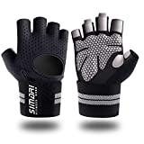 SIMARI Workout Gloves Men Women Full Finger Weight Lifting Gloves with Wrist Support for Gym Ex…