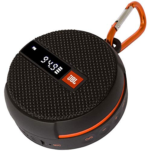 Caixa de Som Preta 5WRMS Bluetooth FM JBL - JBLWIND2