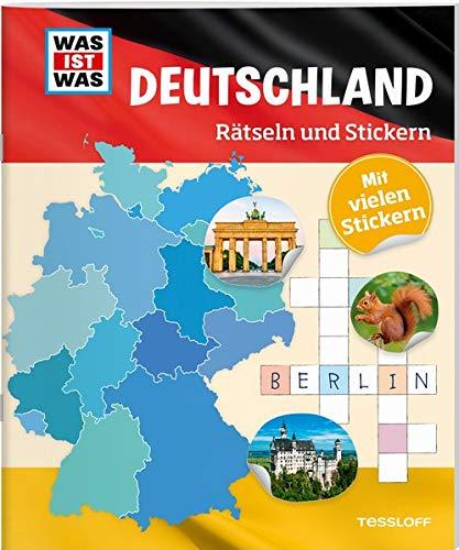 WAS IST WAS Rätseln und Stickern: Deutschland (WAS IST WAS Rätselhefte)