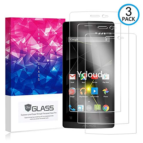 Ycloud [3 Pack] Bildschirmschutzfolie für Archos 50 Diamond, Staubdichter, kratzfester Bildschirmschutz für Archos 50 Diamond