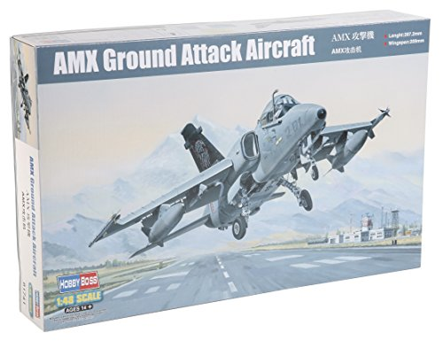 Hobbyboss 207.622,1 cm AMX Ground Attack Aircraft Model Kit in plastica, Scala 1: 48