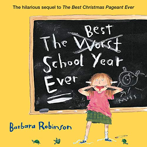 The Best School Year Ever audiobook cover art