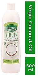 KLF Nirmal Cold Pressed Virgin Coconut Oil, 500 ml