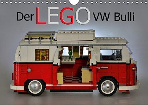 Der LEGO VW Bulli (Wandkalender 2017 DIN A4 quer): Ein Kunstwerk aus bunten Steinen (Monatskalender, 14 Seiten )