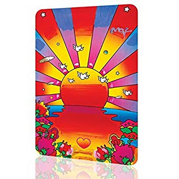 Uptell Metal Sign Peter Max Sunshine Amazing Poster Decor Wall Art Retro Vintage Psychedelic 12 X 8 Inches