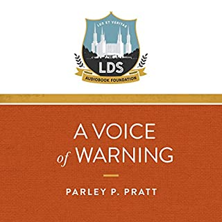 A Voice of Warning audiobook cover art