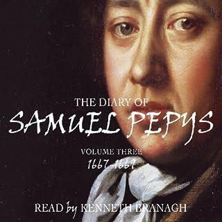 The Diary of Samuel Pepys, Volume 3, 1667-1669 cover art