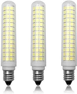 JKLcom E11 LED Bulbs Dimmable 13W(Equivalent to 120w Halogen Bulbs Replacement)110V Cool White 6000K LED Corn Light Bulbs JD T4 E11 Mini Candelabra Base,Dimmable,134 LED 2835 SMD,3 Pack