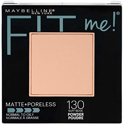 Maybelline New York Fit Me Matte Plus Poreless Powder, Buff Beige (Mattes Gesichtspuder) USA