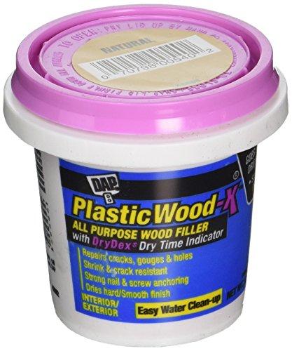 DAP 540 Series 00540 5.5oz Natural Plastic Wood-X W/Drydex