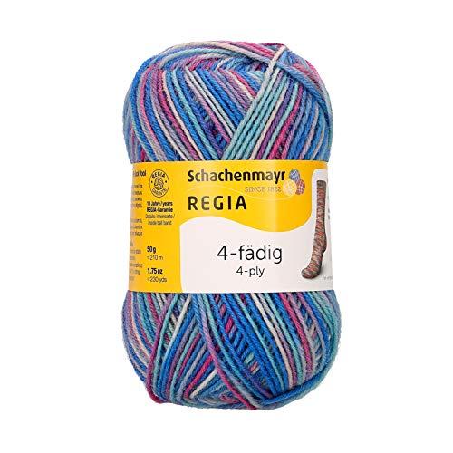 Schachenmayr REGIA Handstrickgarne 4-fädig Color, 50g Magenta