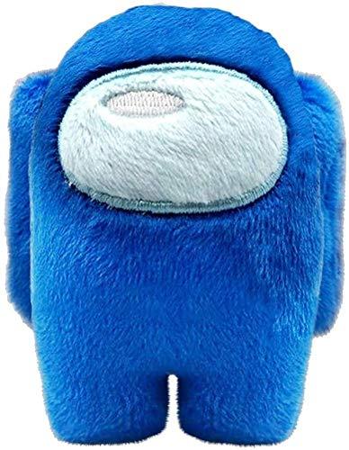 Among US Plüsch-Spielzeug, 10 cm, Plüsch, Der Impostor unter uns, Blau, Plush Crewmate Among US