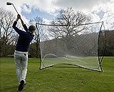 QUICKPLAY Golf Mega Net - Golf Hitting Practice Net & Freestanding Sports Screen 12' x 9'