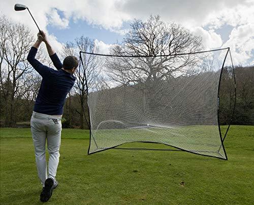 QUICKPLAY Golf Mega Net – Golf Hitting Practice Net & Freistehender Sportschirm 30,5 x 22,9 cm
