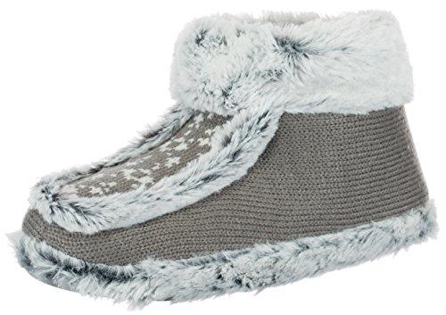 Brandsseller - Zapatillas de estar por casa para mujer, con suela antideslizante