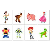 Toy Story Watercolor Prints - Set of 8 (8 inches x 10 inches) Photos - Kids Wall Art Decor