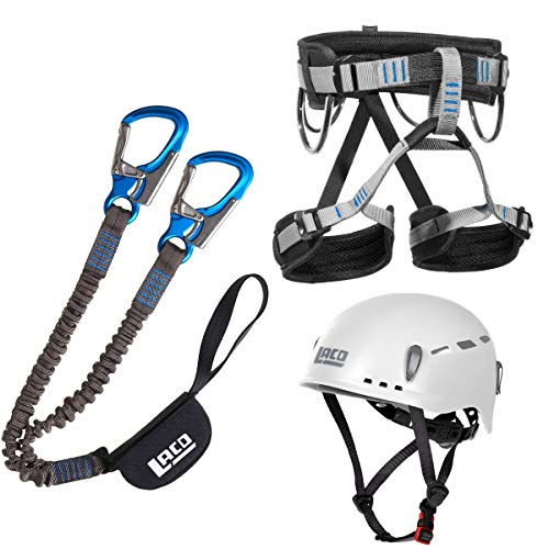 LACD Klettersteigset Via Ferrata Pro Evo 2.0 Start Gurt Protector 2.0 (M)
