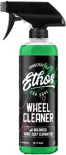 Ethos Car Care Wheel Cleaner, Tough on Brake Dust, Safe on Wheels, Iron Dissolving Technology - Professional Strength Formula… (16 Oz)