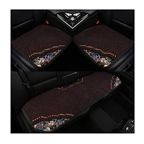 Auto-Sitz Feine Edging Holzperlen-Qualitäts-Holz-Handwerk Handbuch Breath 3-teiliges Set 3 Styles (Size : C)