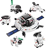 Stem Solar Robots Kit Toys for 8-12 Year Old Boys, Science Experiments for Kids, DIY Building Projects Learning by Playing