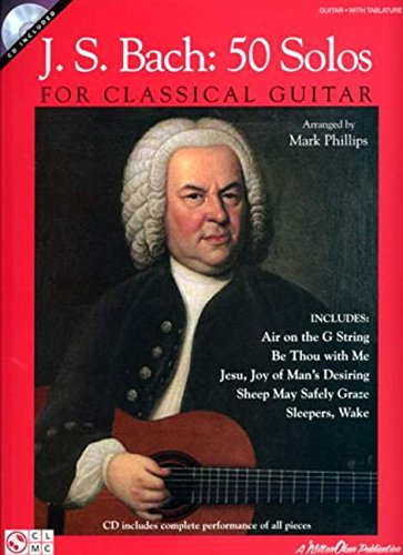J.S. Bach: 50 Solos for Classical Guitar [Lingua...