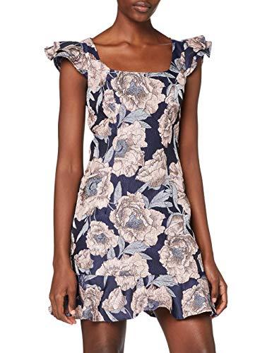 Chi Chi London Damen Chi Normani Dress Kleid, blau, 40