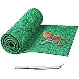 Mechpia 59'' x 20'' Reptile Carpet, Terrarium Extra Large Mat Liner Bedding Reptile Substrate Supplies for Bearded Dragon Lizard Leopard Gecko Snake Tortoise