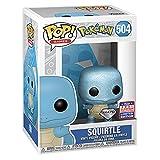 Funko POP! Giochi: Pokemon Squirtle Diamond Collection 2021 FunKon Exclusive 504 Condivisa Estate