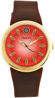 Fruitz by Philip Stein Unisex F36G-F-BR Analog Display Japanese Quartz Brown Watch