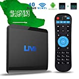 Live IPTV Box, Android TV Receiver, 1600+ 4K HD International Live Channels from