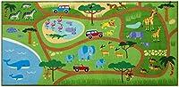 "Olive Kids Play Rugおもちゃ、80x 39"" 80"" x 39"" ベージュ 697416"