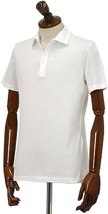 Cruciani【クルチアーニ】ポロシャツ JF826PC BIANCO コットン ジャージー ホワイト