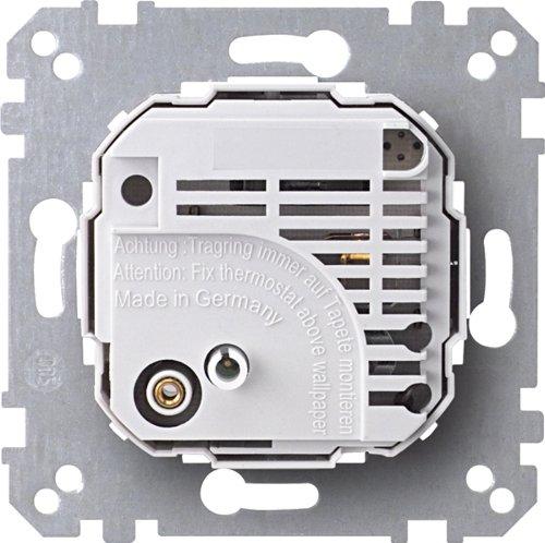 Merten 536401 Raumtemperaturregler-Einsatz mit Wechselkontakt, AC 24 V