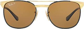 Kids' Rj9540s Metal Square Sunglasses